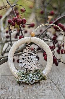 Dekorácie - ozdoba na stromček - 10112397_