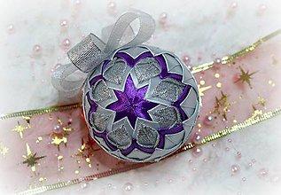 Dekorácie - Vianočná guľa 16 - 10113091_