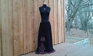 Sukne - Teploučká sukně na míru - 10111589_