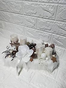 Svietidlá a sviečky - Adventný box - 10109736_