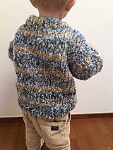 Detské oblečenie - Pletený detský pulóver - 10111927_