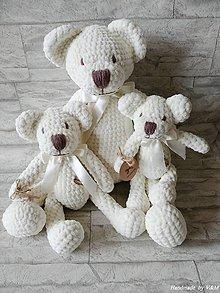 Hračky - Medvedia rodinka - 10111860_