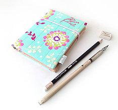 Papiernictvo - Zápisník S veľkými kvetmi - A6 - 10109787_