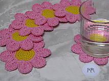Úžitkový textil - Podložka Kvet - 10111457_