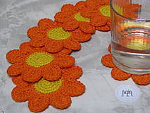 Úžitkový textil - Podložka Kvet - 10111562_