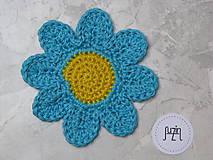 Úžitkový textil - Podložka Kvet - 10111579_