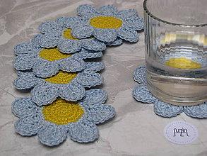 Úžitkový textil - Podložka Kvet - 10111494_