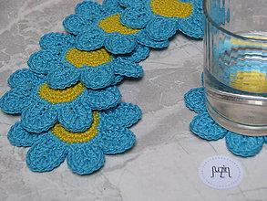 Úžitkový textil - Podložka Kvet - 10111578_