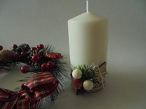 Svietidlá a sviečky - Vianočná romantika - 10109243_