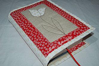 Úžitkový textil - tulipán - 10113911_