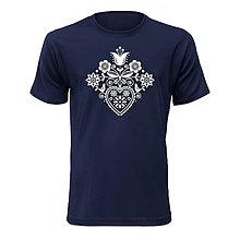 Oblečenie - Kvetované srdce - 10117074_
