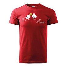 Oblečenie - Zaľúbené vtáčence - 10117251_