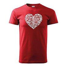 Oblečenie - Folk vzor Ornament v srdci - 10119453_