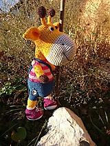 Hračky - Žirafka Adelka - 10116435_