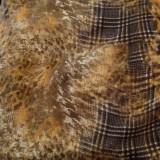 Šaty - Vlnené šaty ŽLTO/HNEDÉ - 10115386_