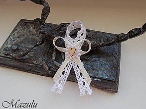Pierka - vintage v bielo&béžovom - 10115566_