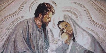 Obrazy - Svätá rodina - 10115417_