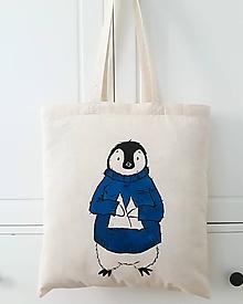 Nákupné tašky - Tučniak - 10117277_