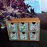 "Krabičky - komodka - šperkovnica ""Roses"" - 10115630_"