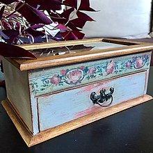 """Krabičky - šperkovnica """"Madam Rose"""" - 10115559_"""