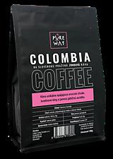 Potraviny - Zrnková Colombia káva Pure Way, 200 g - 10114512_