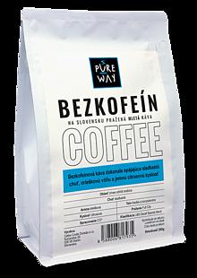 Potraviny - Mletá bezkofeínová káva Pure Way, 200 g - 10114411_