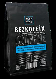 Potraviny - Zrnková bezkofeínová káva Pure Way 200g - 10114461_