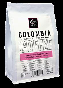 Potraviny - Mletá Colombia káva Pure Way 200g - 10114506_