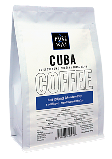 Potraviny - Mletá Cuba káva Pure Way, 200 g - 10114673_