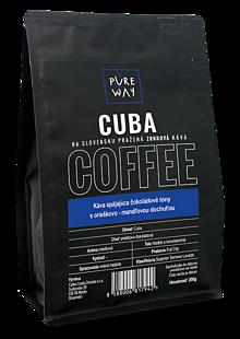 Potraviny - Zrnková Cuba Káva Pure Way, 200 g - 10114684_