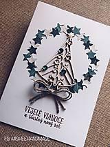 Papiernictvo - Vianočná pohľadnica 3 - 10118663_