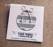Papiernictvo - Vianočna pohľadnica 4 - 10118681_
