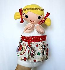 Hračky - Maňuška anjel - Anjelik z Vianočného obláčika - 10117478_