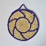 Pomôcky - Blue circle - Pletené Dekorácie - 10114859_