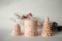 Svietidlá a sviečky - Sada vianočných sviec * s vôňou * - 10116796_