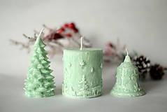 Svietidlá a sviečky - Sada vianočných sviec * s vôňou * - 10116839_