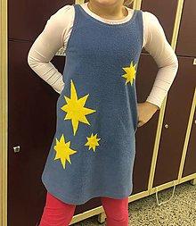 Detské oblečenie - Fleecove šaty