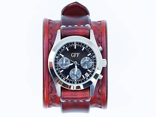 c6fe9aaad Dámske kožené hodinky GFF / leon - SAShE.sk - Handmade Náramky