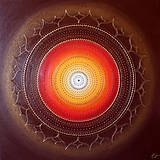 Obrazy - Mandala RELAX 70 x 70 - 10115050_