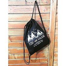 Iné tašky - Vak s horami - 10116572_
