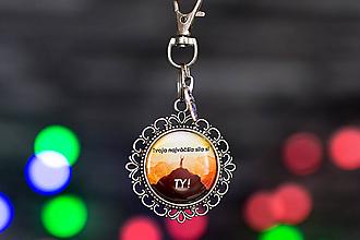Kľúčenky - kľúčenka s fotkou (motivačná kľúčenka) - 10114546_