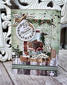 Papiernictvo - Vianočná pohľadnica  - 10117709_