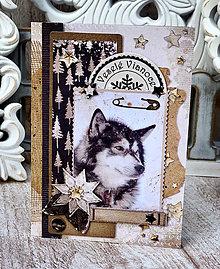 Papiernictvo - Vianočná pohľadnica  - 10117827_