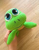Hračky - Háčkovaná korytnačka Korky - 10118332_