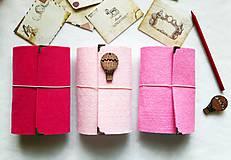 Papiernictvo - Diár 2019/ Doplniteľný diár Softwille Rose s brošňou - 10114114_