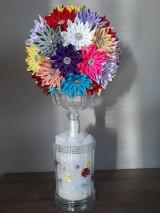 Dekorácie - Kanzhasi kvety - 10114959_