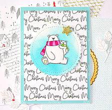 Papiernictvo - Vianočná pohľadnica - 10118546_