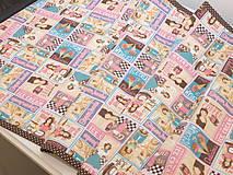 Úžitkový textil - ...retro štóla... - 10115143_