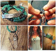 """Náhrdelníky - 2v1 náramok a náhrdelník """"balance"""" - 10118906_"""