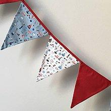 Detské doplnky - Vlajky námornícke - 10116007_